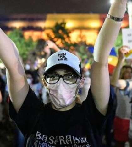 Protest în Piata Victoriei pe 17 august contra violentelor Jandarmeriei