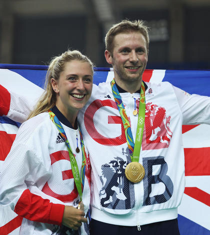 Laura Trott și Jason Kenny