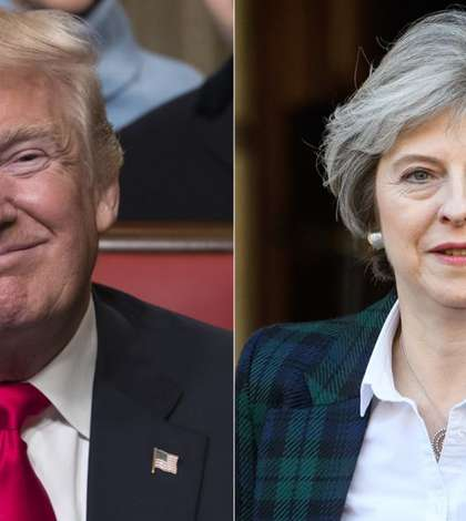 Donald Trump și Theresa May