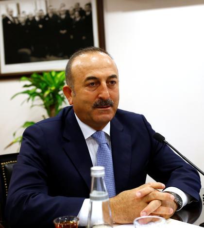 Ministrul turc de Externe, Mevlut Cavusoglu (Foto: Reuters/Umit Bektas)