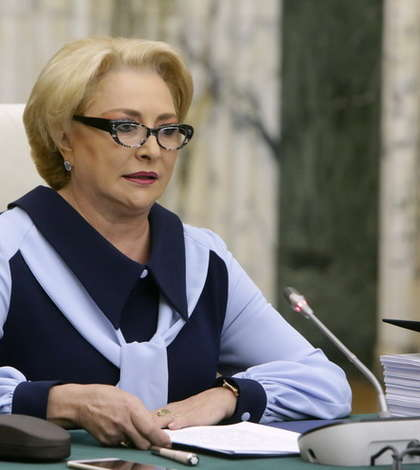 Premierul Viorica Dăncilă critică rezoluţia PE (Sursa foto: gov.ro)