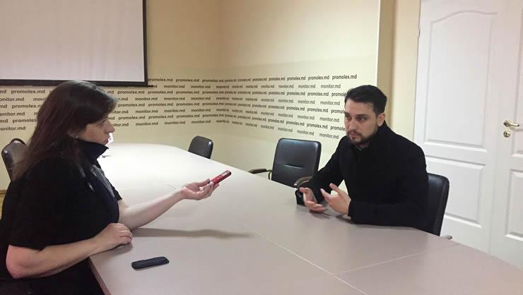 Valeria Viţu și avocatul Dumitru Slusarenco