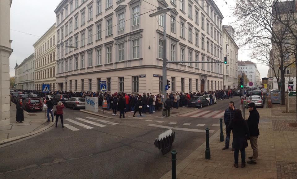 Sectie de vot ICR Viena. Foto: Maria Moghina